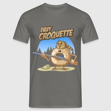 Davy croquette - Männer T-Shirt