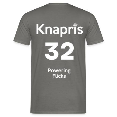 Knapris - T-shirt herr