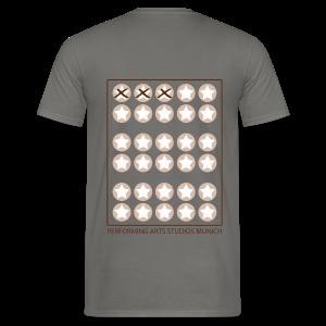 Starcard to go - Männer T-Shirt