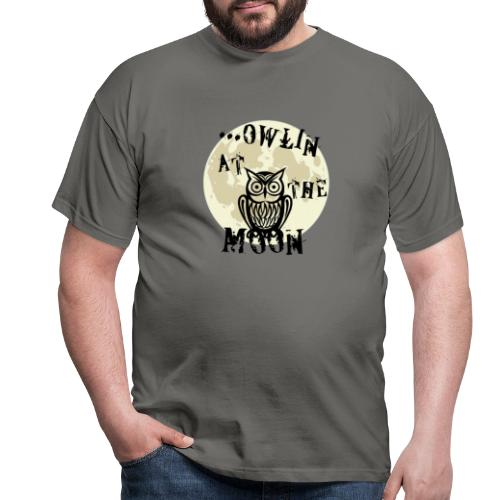 Owlin At The Moon - T-shirt herr