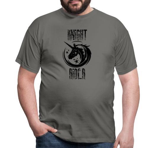Knight Rider Unicorn - T-shirt herr