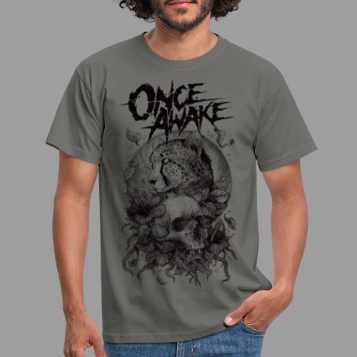 Once Awake skull for white - T-skjorte for menn