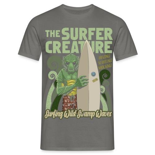 La criatura surfista - Camiseta hombre