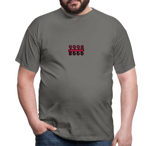 9998 upside down Design - Männer T-Shirt