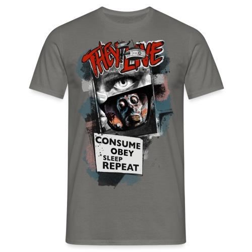 THEY LIVE - Männer T-Shirt