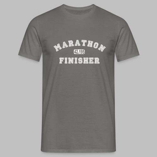 Marathon 42.195km Finisher Geschenkidee - Männer T-Shirt