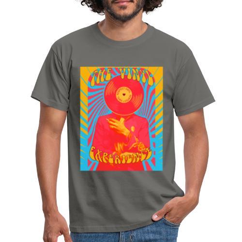 Vinyl Experience • Respect Vinyl - Männer T-Shirt