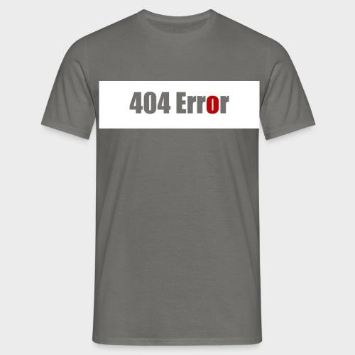 404 Error - Männer T-Shirt