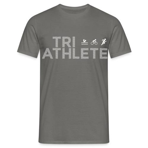 Triathlet Laufshirt Geschenk für Triathleten - Männer T-Shirt