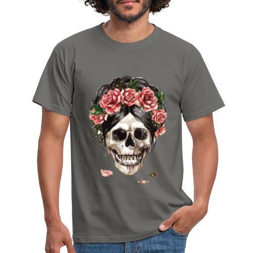 ✦ Las rosas de la muerte ✦ - Männer T-Shirt