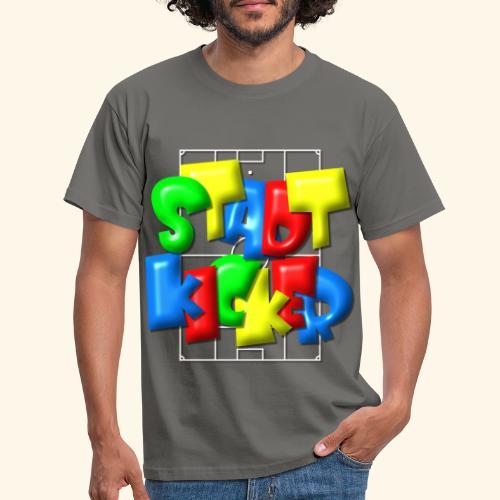 Stadtkicker im Fußballfeld - Balloon-Style - Männer T-Shirt