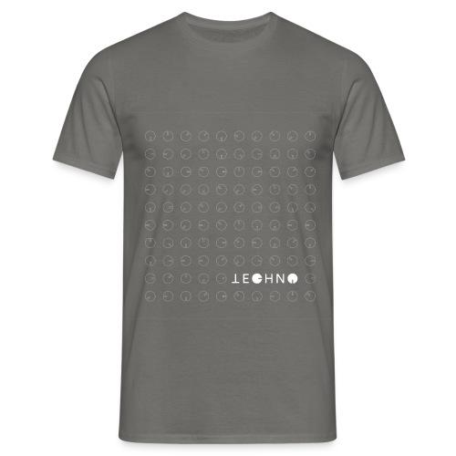 Jechno Techno - T-shirt herr