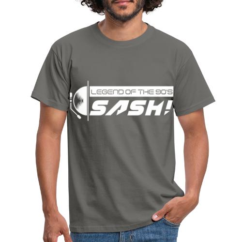 DJ SASH! Turntable Logo - Men's T-Shirt