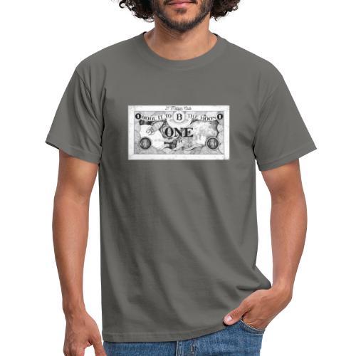 Maglietta Banconota Bitcoin 1 - Maglietta da uomo