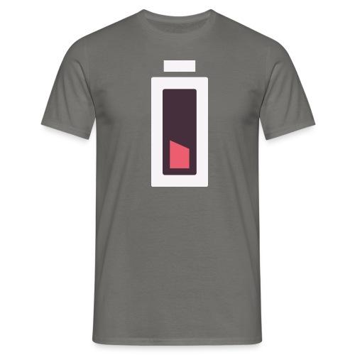 Batterie - Plus d'énergie... - T-shirt Homme