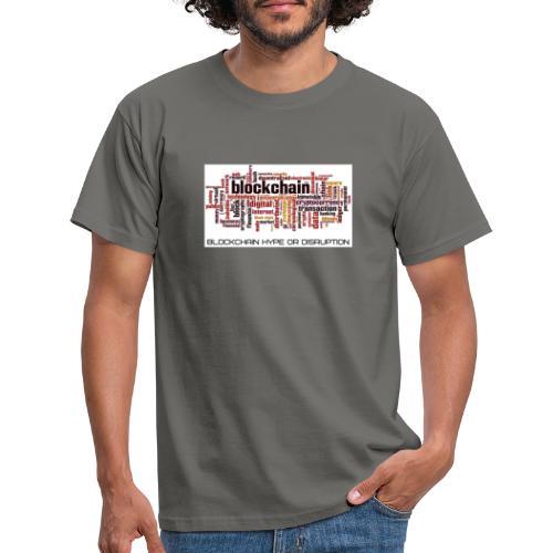 Maglietta Blockchain - Maglietta da uomo