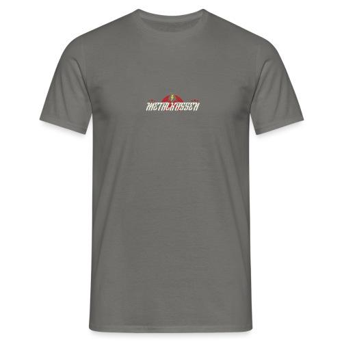 metaltshirtlogonyt png - Herre-T-shirt