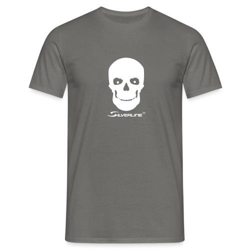 Silverline Skull - Männer T-Shirt