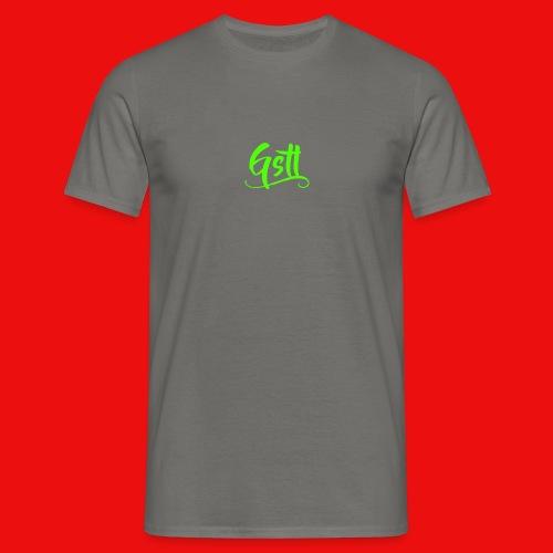Gstl_Logo_-Green- - Men's T-Shirt