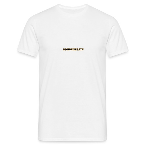 Concentrate on white - Men's T-Shirt