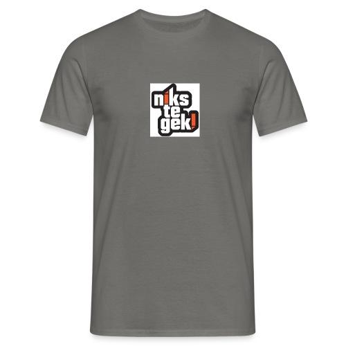 nikstegek shirt - Mannen T-shirt