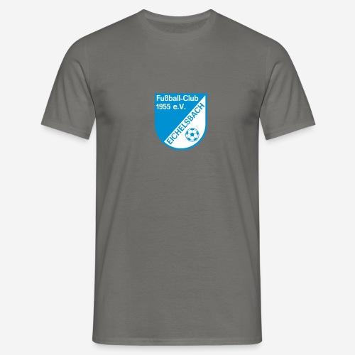 fc_wappen_sw_nur_spreadsh - Männer T-Shirt