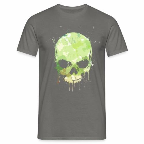 Skull Stain - Maglietta da uomo