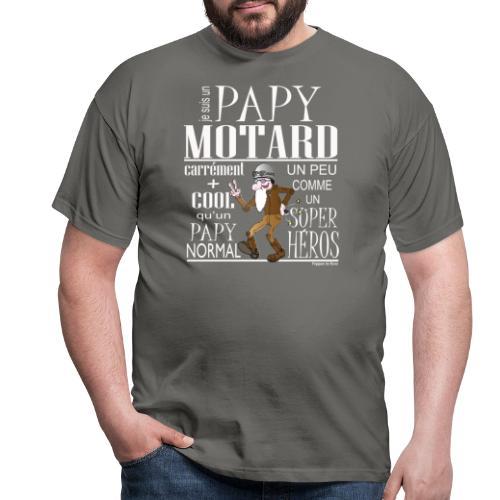 N 182 PAPY MOTARD 2020 - T-shirt Homme
