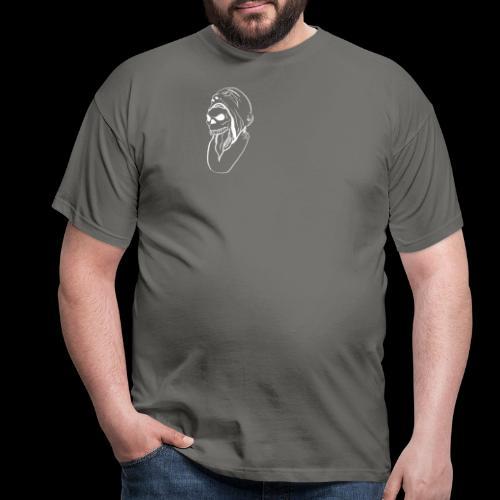 skullface doppelseitig - Männer T-Shirt