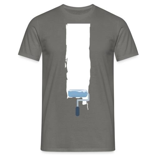 Flat stroke design - Männer T-Shirt