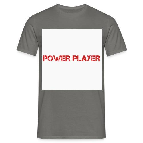 Linea power player - Maglietta da uomo