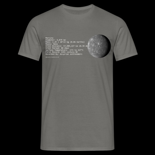 mercury - Men's T-Shirt