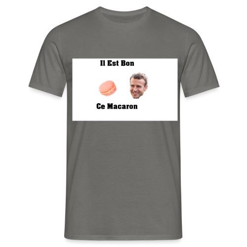 Il est bon ce Macaron - T-shirt Homme