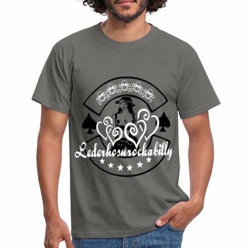 lederhosnrockabilly4 - Männer T-Shirt