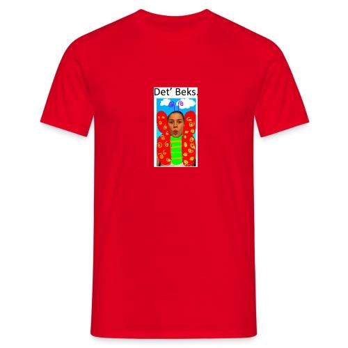 Det' Beks. - Herre-T-shirt