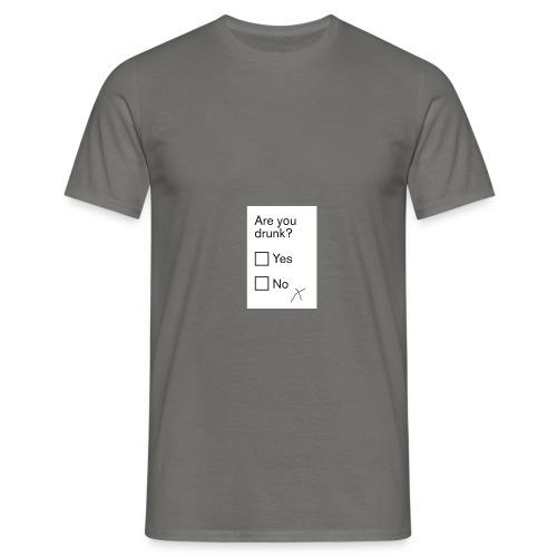 drunk pic - Men's T-Shirt