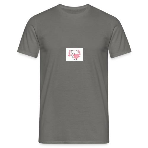 jeg elsker dig - Herre-T-shirt