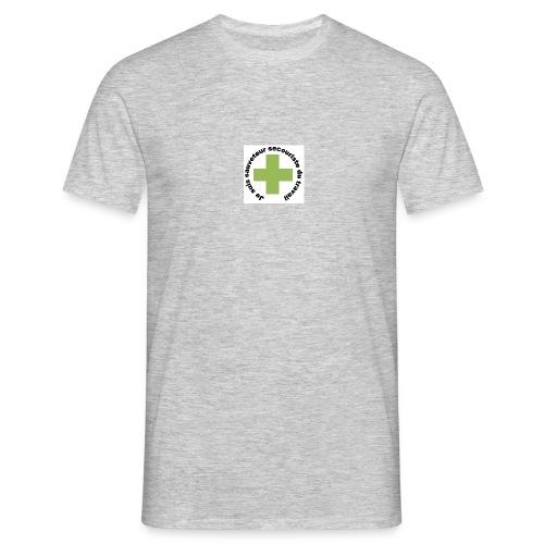 Logo secouriste - T-shirt Homme