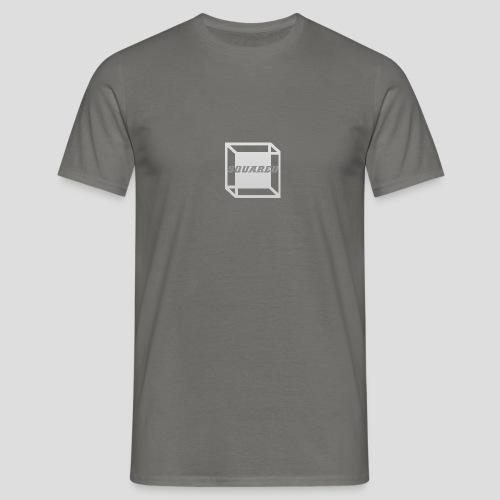 Squared Apparel Logo White / Gray - Men's T-Shirt