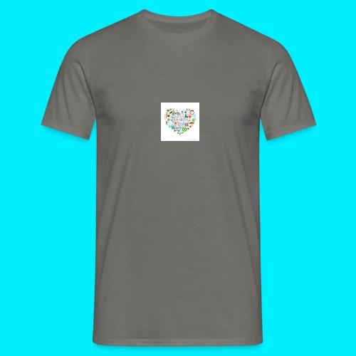 Heart image - Men's T-Shirt