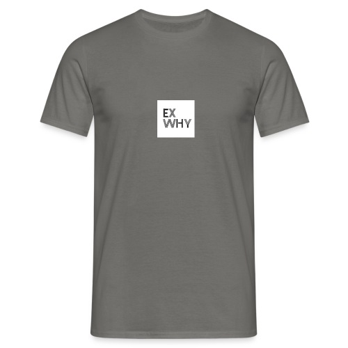 EX WHY logo - Men's T-Shirt