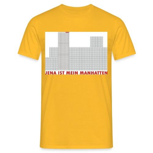 jena manhatten - Männer T-Shirt