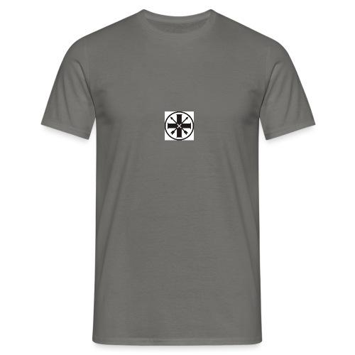 kreuz_schwarz - Männer T-Shirt