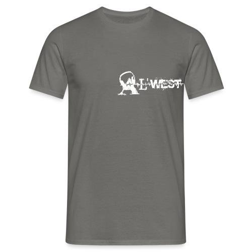 logo alwest blanc - T-shirt Homme