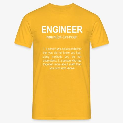 Engineer Def. 2 - T-shirt Homme