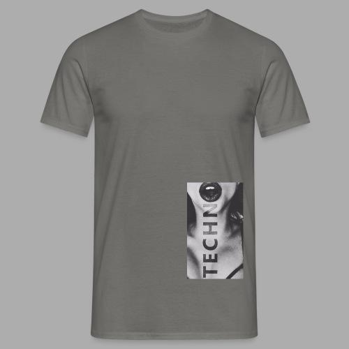 Ravelife Techno Girl - Männer T-Shirt