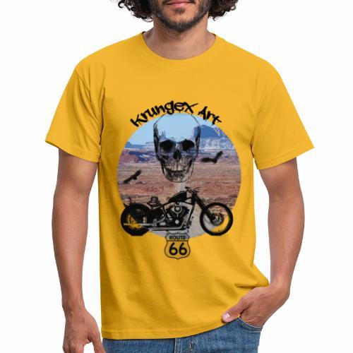 Skull Route - Maglietta da uomo