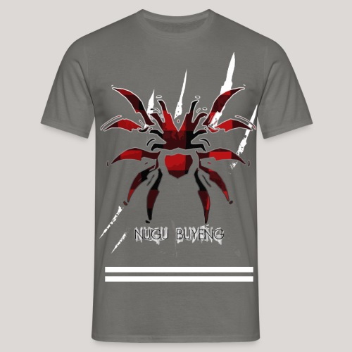 死没 3 2 2 Stripes Nugu Buyeng - Männer T-Shirt