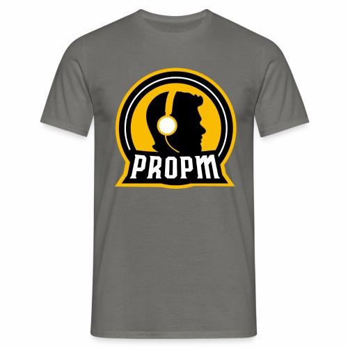 propm logo - T-skjorte for menn