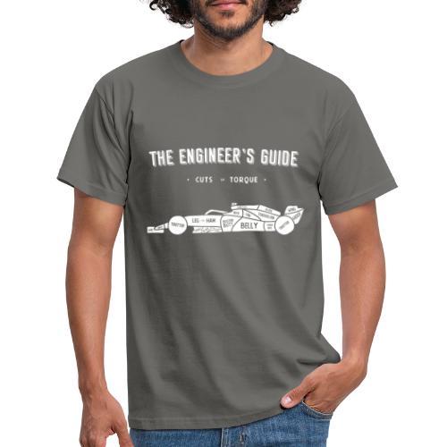 Racing car Cuts of Meat - Men's T-Shirt